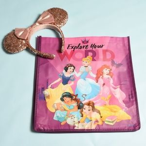 NWT Reusable Princess Disney bag